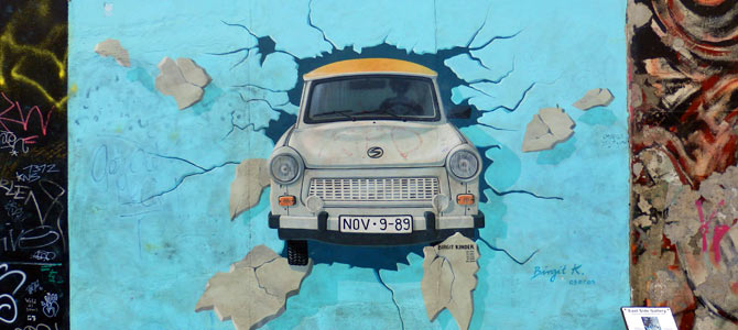Stadtführung in Berlin - Berliner Mauer Tour